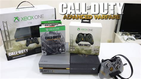 Edition Of One by Call Of Duty Advanced Warfare Limited Edition Xbox One 1tb