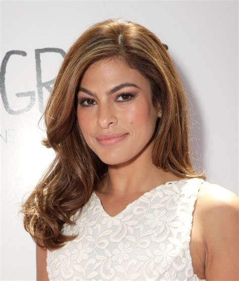 eva mendes hair ideas  pinterest eva mendes