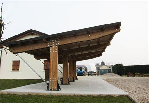tettoie per auto in legno autocover in legno per auto elite