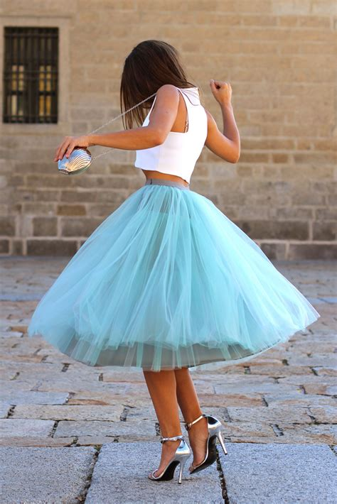 the tulle skirt it doesn t get more feminine than that