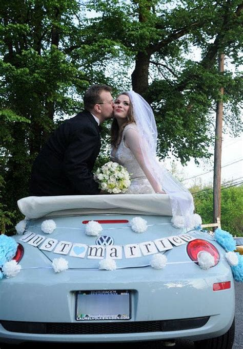 Wedding Banner Car by Just Married Car Sign Wedding Banner Photo Prop Custom