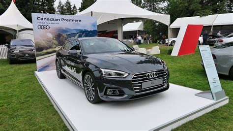 audi vorsprung 2020 plan 2018 audi a5 coupe unveiled in vancouver drivers magazine
