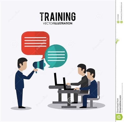 design concept training training icon design stock vector image 67004888