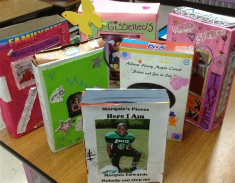 biography ideas for 4th graders 1000 images about cereal box project on pinterest