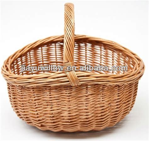 linyi natural empty basket for storage food fruit and