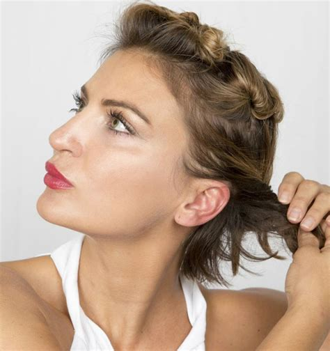 julianne hough updo step by step step 7 summer beauty how to julianne hough s short hair