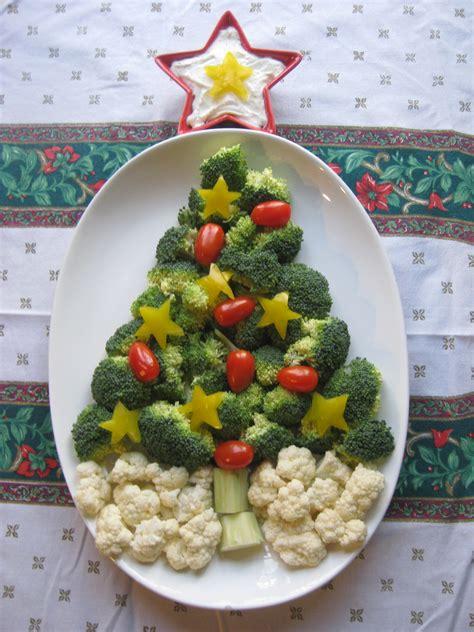 christmas tree vegetable tray blissful hope