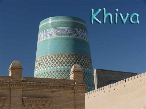 Gamis Khiva the khan of khiva made an offer to czar the great of