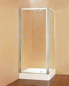 pivot door shower enclosures shower enclosures