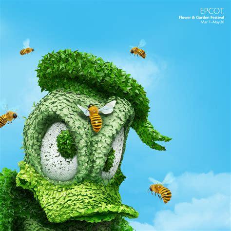 disney garden wallpaper add disney topiaries to your desktop 171 disney parks blog