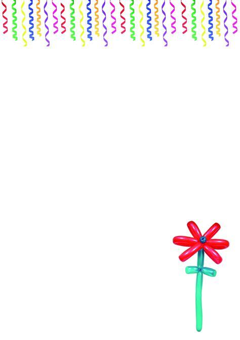 briefpapier vorlagen geburtstag kostenlos kostenloses briefpapier quot geburtstag quot vorlagen zum ausdrucken 30 03 2018 00 24 33