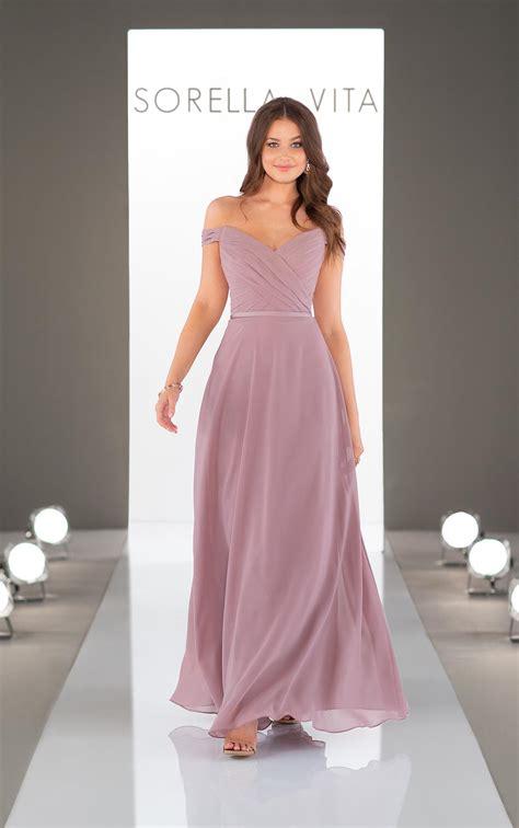cute and classic bridesmaid dress sorella vita