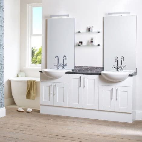 White Bathroom Furniture Uk Bali White Fitted Bathroom Furniture Roper