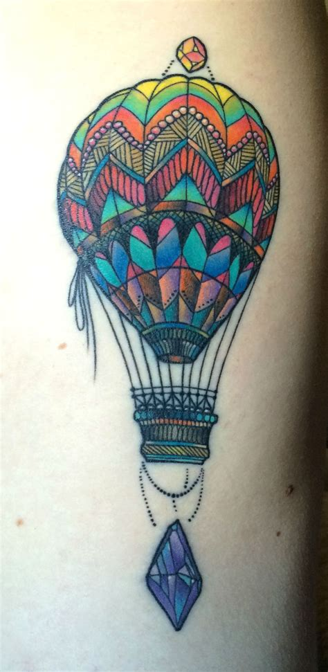 tattoo hot air balloon meaning cute hot air balloon tattoo www imgkid com the image