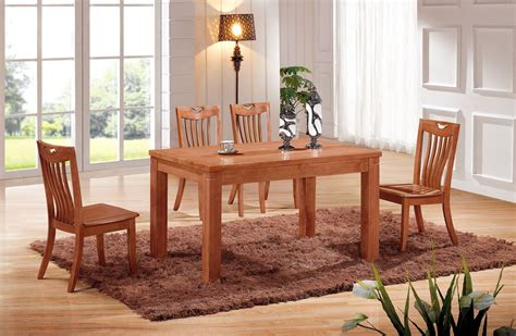 Solid Wood Dining Room Tables And Chairs Factory Direct Oak Dining Tables And Chairs With A Turntable Table Solid Wood Dining Table And