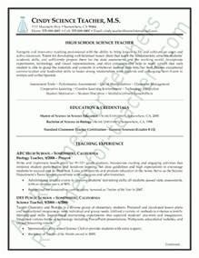Resume Exles Science Science Resume Sles Best Letter Sle
