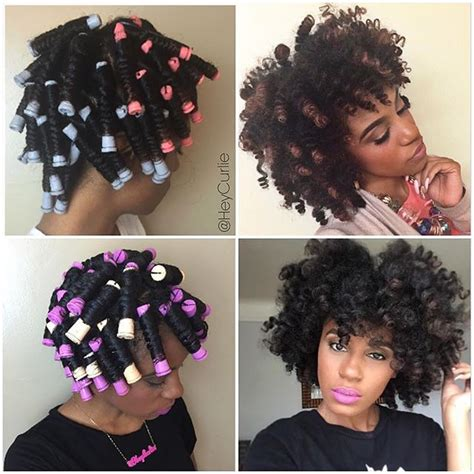 perm rod hair styles on natural hair perm rod set on dry natural hair