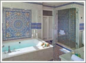 Moroccan decor bathroom a moroccan style bathroom