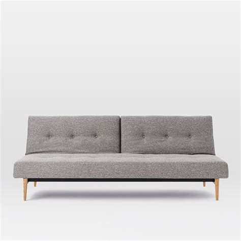 west elm futon sofa mid century futon sofa west elm