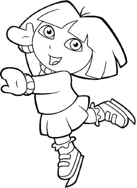 dora winter coloring pages dora the explorer the snow and coloring pages on pinterest