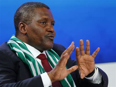 nigeria who is aliko dangote africa s richest with a 163 10 8bn fortune