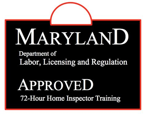 how to become a licensed home inspector in maryland