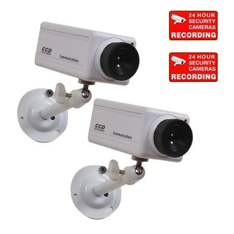 best buy videosecu 2 security cameras simulated home
