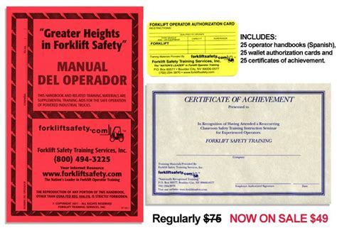 Wallet Size Certification Card Template by Osha Compliant Forklift And Operator