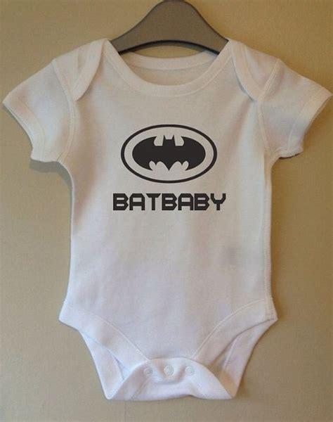 Kaos Batman 8 Boy Clothing batbaby batman bodysuit slogan retro by