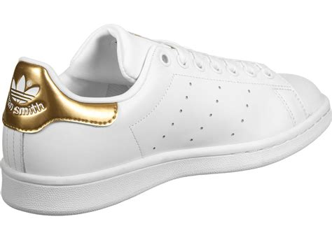 adidas stan smith  shoes white gold weare shop