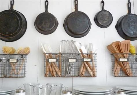 Kitchen Utensil Storage Ideas Great Budget Kitchen Storage Ideas