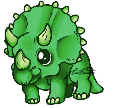 triceratops by flatlandq on deviantart