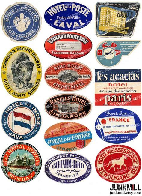 Kofferaufkleber Schottland by Best 25 Luggage Labels Ideas On Pinterest