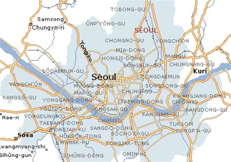 www.mappi.net : maps of cities : seoul