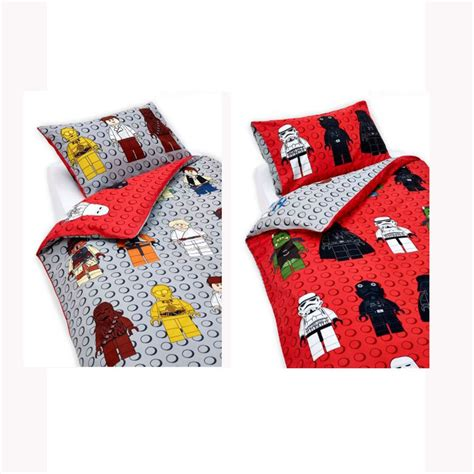 Lego Star Wars Single Duvet Cover Set New Kids Bedding Ebay Lego Wars Bedding Set