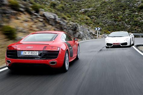 Audi R8 Lamborghini Audi R8 V Lamborghini Gallardo Lp560 4 Evo