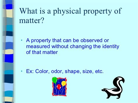 what is matter physical properties of matter