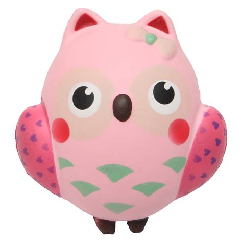 Squishy Owl 1 other educational toys squishy owl rising soft animals collection gift decor was