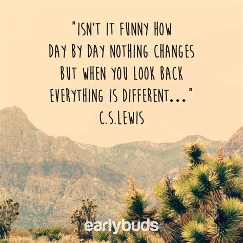 Isn T It Funny How Things Change Quotes