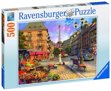 puzzle paris ravensburger 14683 500 pieces jigsaw puzzles