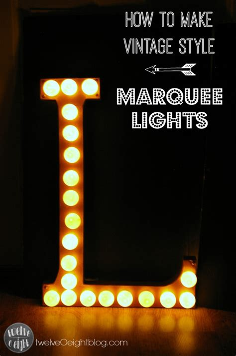 marquee lights diy vintage copper marquee lights