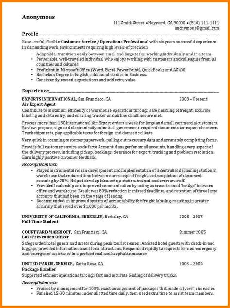 Accomplishment Resume Template by 28 Accomplishment Exles For Resume Employers
