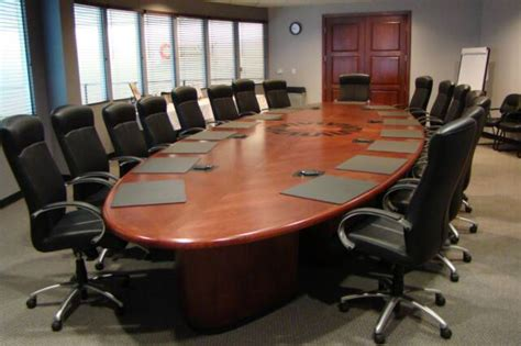 Big Meeting Table Donating A Conference Table Zealous