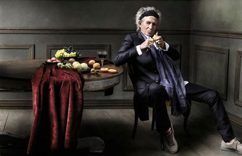 Fashion Home Interiors Houston by Mark Seliger Keith Richards New York City Photograph