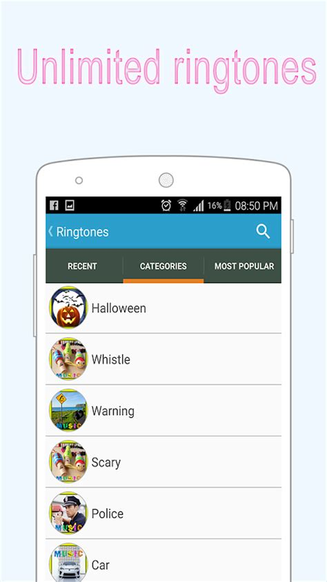 free ringtone for android ringtones free for android android apps on play