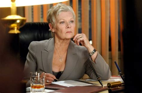 judi dench club james bond france