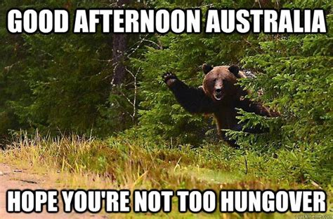 Funny Australia Day Memes - good afternoon meme good afternoon australia hope you re picsmine