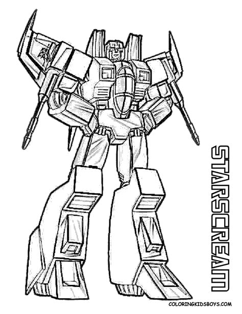 Transformers 5 Coloring Pages by Starscream Transformers Coloring Pages Gif 816 215 1056