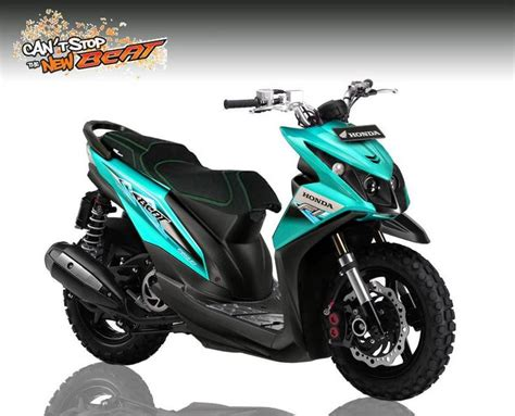 Striping Decal Scoopy Fi modifikasi motor honda beat modifikasi motor terbaru honda motors and beats
