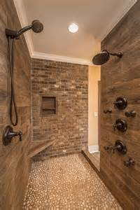 bathroom tile ideas for showers what is the wood tile used on the shower walls